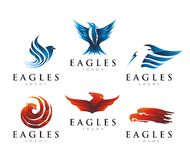 EAGLES LOGO DESIGN Royalty Free Stock Photography