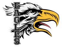 Eagles-Mascotte Royalty-vrije Stock Foto's