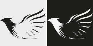 Eagles maskot eller symbol royaltyfri illustrationer