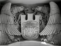 Eagles mit Ketten Lizenzfreies Stockbild