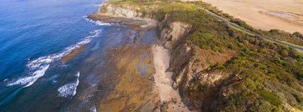 Eagles Nest, Australia. Scenic aerial view of Eagles Nest in Cape Paterson, Victoria, Australia Royalty Free Stock Images