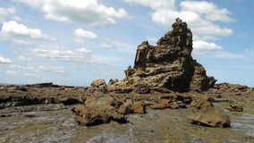 Eagles Nest - Inverloch, Victoria. Rock formation at Eagle's Nest Beach in Inverloch, Victoria, Australia Stock Images