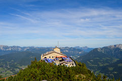 The Eagles nest. National park Berchtesgaden - The Eagles nest Royalty Free Stock Photography
