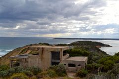 Fort Nepean Enemy Lookout Stock Image