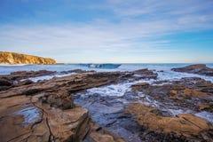 Eagles-Neststrand, Victoria, Australië Stock Foto