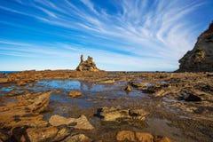 Eagles redestrand, Victoria, Australien Fotografering för Bildbyråer