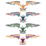 Eagles set vector design template Royalty Free Stock Photo
