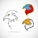 Eagles set Royalty Free Stock Images
