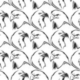 Eagles wektorowy bezszwowy deseniowy projekt ilustracji