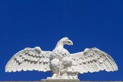 Eaglesteinstatue Stockfotografie