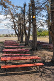 Eagleville, California annual picnic site Stock Photos