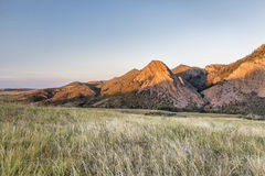 Eagle Nest Rock at sunset Stock Image