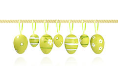 Eags di Pasqua Fotografia Stock Libera da Diritti