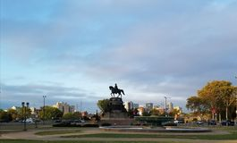 Eakins Oval. In Philadelphia Royalty Free Stock Images
