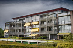 eal estate apartment building Royalty Free Stock Image