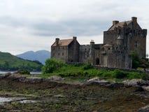 Ealean. Castel scotish coast inlove Royalty Free Stock Photo