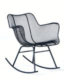 Eames Wire Rocking Chair Stock Photography
