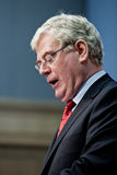 Eamon Gilmore T.D., Minister for Foreign Affairs Stock Images