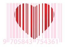 ean пинк сердца Стоковое фото RF