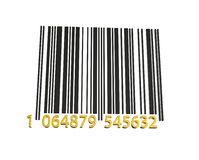 EAN Bar Code Royalty Free Stock Images