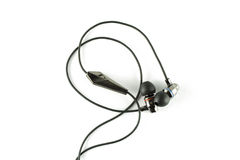 Ear-Bud Headphones Royalty Free Stock Images