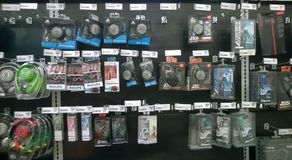 Ear buds selling Stock Images