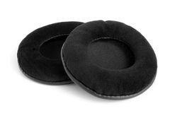 Ear cushions. On a white background Royalty Free Stock Photo