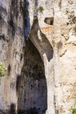 The Ear of Dionysius, ancient Syracuse on Sicily, Italy. Stock Photos