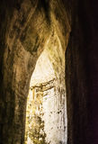 The Ear of Dionysius, ancient Syracuse on Sicily, Italy. Stock Photography