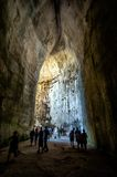 Ear of Dionysius in Siracusa, Sicily, Italy Stock Photography