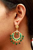 Ear with earring. Stock Photography