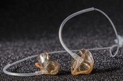 In-ear monitors royalty free stock photos