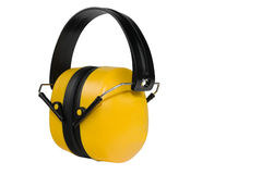 Ear muff. Isolated on a white background Royalty Free Stock Photo