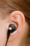 Ear-phone Royalty Free Stock Photography