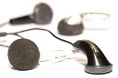 Ear phones Royalty Free Stock Photography