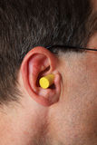 Ear plug Royalty Free Stock Photo