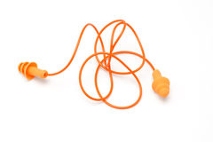 Ear plugs Royalty Free Stock Photography