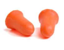 Ear Plugs Royalty Free Stock Photos