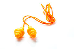 Ear plugs Royalty Free Stock Images