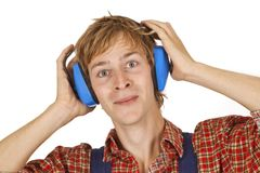 Ear Protection Stock Image