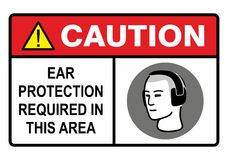Ear protection Stock Images