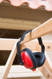 Ear protection for noise Stock Image