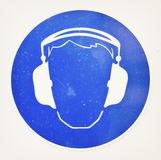 Ear protectors Royalty Free Stock Photos
