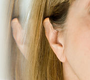 Ear Reflection Stock Image