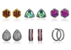 Ear-rings Royalty Free Stock Images