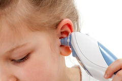 Ear thermometer stock images