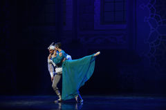 "The ear whisper- ballet ""One Thousand and One Nights"" Stock Images"
