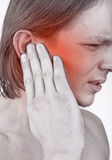 Earache Royalty Free Stock Photo