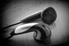 Earbuds Foto de archivo libre de regalías