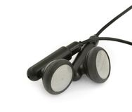 Earbuds Fotografia de Stock Royalty Free